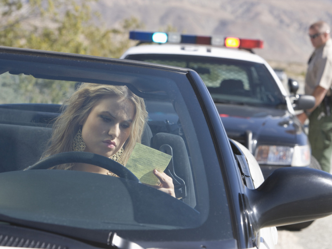 Pulled Over for a Traffic Violation?